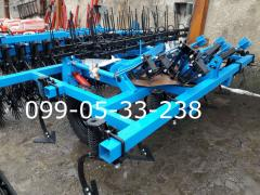 Cultivator CGS-4 +4 number of the Lancet paws,3 rows of teeth harrows and
