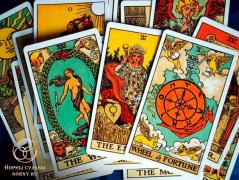 Divination, fortune-telling, diagnostics on the Tarot