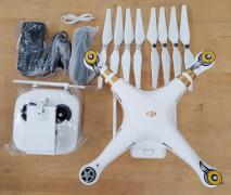DJI Phantom 4 Quadcopter видеокамеры