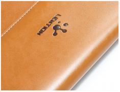 Элитный чехол-кейс для ноутбука, Макбук Apple.Натуральная кожа