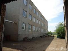 For sale warehouse complex with hangar, administrative building