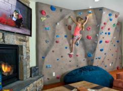 Home climbing walls