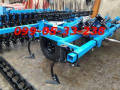 Культиватор КГШ-4 +4 ряда стрельчатых лап,3 ряда зубовых борон и