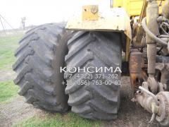 Сдвоенные шины для тракторов и комбайнов