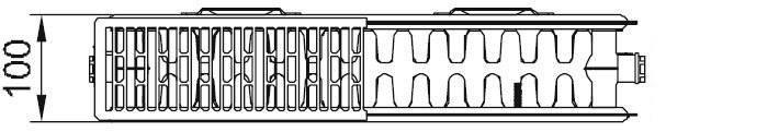 стальные радиаторы Kermi therm-x2 FKO 22 тип 300x900