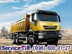 Used and new spare parts for Iveco trucks